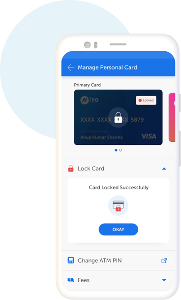 Manage Payment with Niyo Card